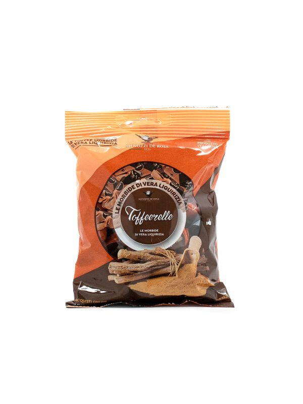 Soft Licorice Toffeerelle Candy - Sweets, Treats & Snacks - Buon'Italia