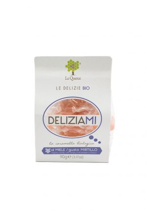 Organic Candies with Honey and Blueberry - Sweets, Treats & Snacks - Buon'Italia