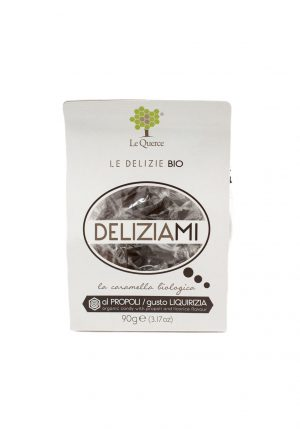 Organic Candies with Licorice Flavor -Sweets, Treats & Snacks - Buon'Italia