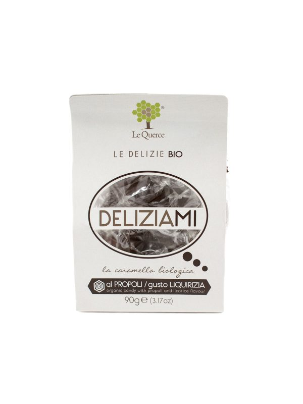Organic Candies with Licorice Flavor - Sweets, Treats & Snacks - Buon'Italia