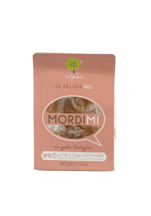 Organic Candies with Honey and Red Fruits -Sweets, Treats & Snacks - Buon'Italia