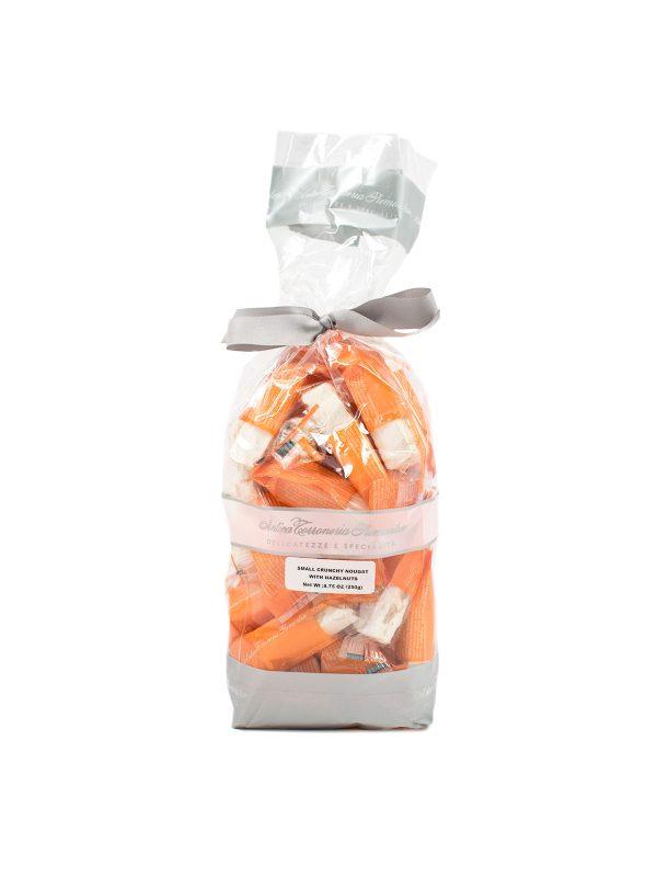 Small Crunchy Torroncino with Hazelnuts - Sweets, Treats & Snacks - Buon'Italia