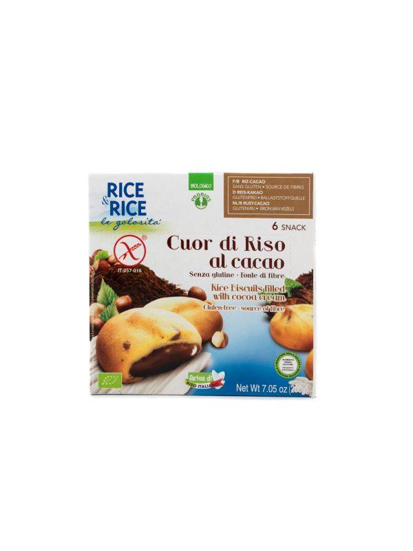 Cuor di Riso with Cocoa Cream - Pantry - Buon'Italia