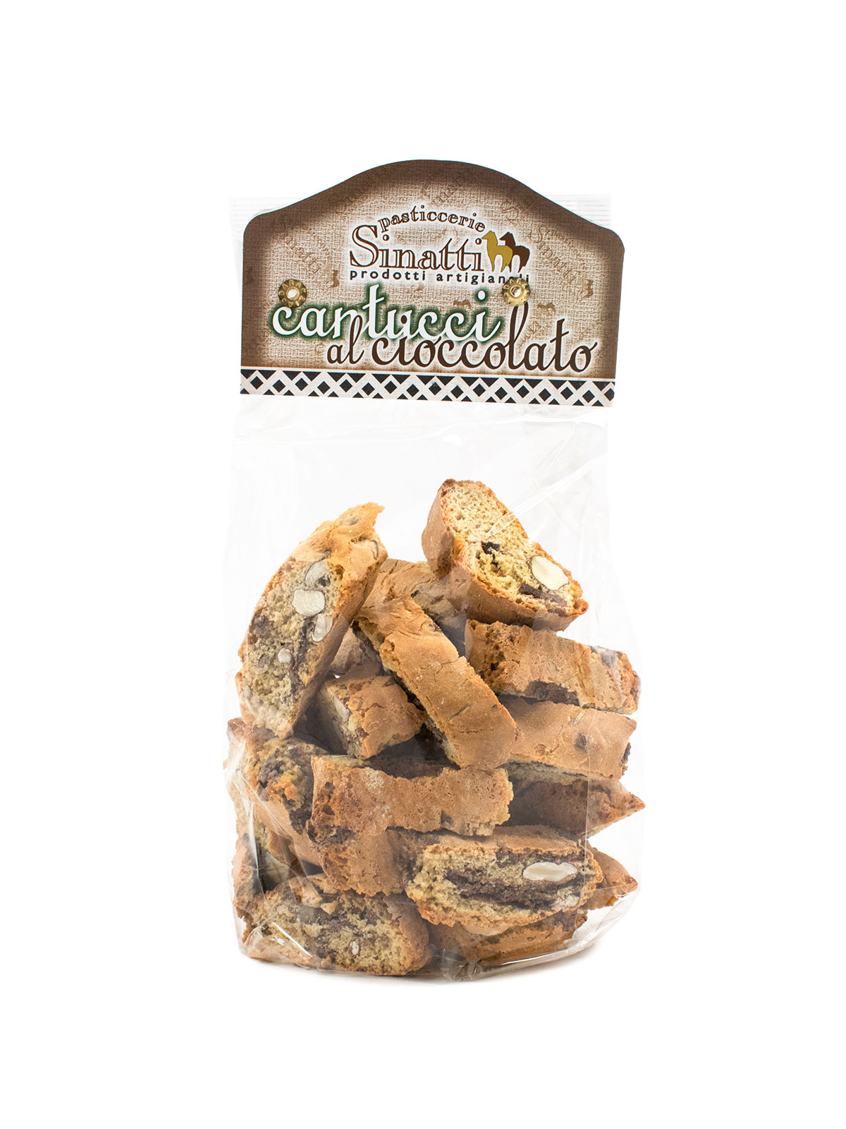 Sinatti Cantucci Cioccolato - Sweets, Treats & Snacks - Buon'Italia