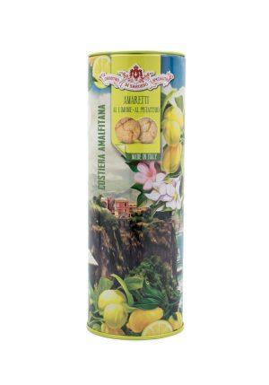 Amaretti del Chiostro Soft Lemon and Pistachio - Sweets, Treats & Snacks - Buon'Italia