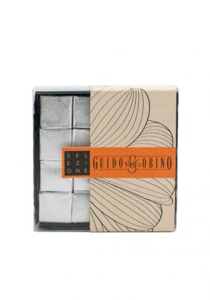 Mini Square Salted Cremino Chocolate - Sweets, Treats & Snacks - Buon'Italia