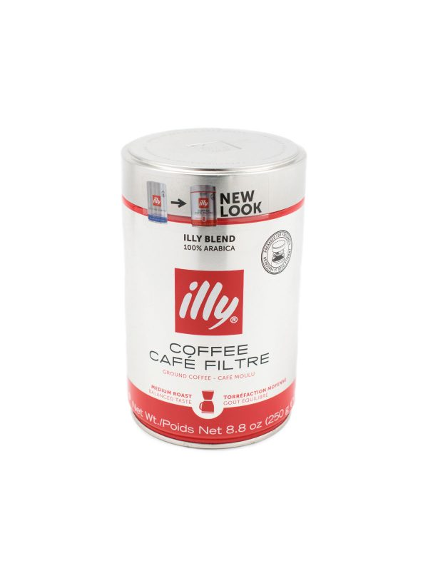 Illy Medium Roast Ground Coffee - Beverages - Buon'Italia