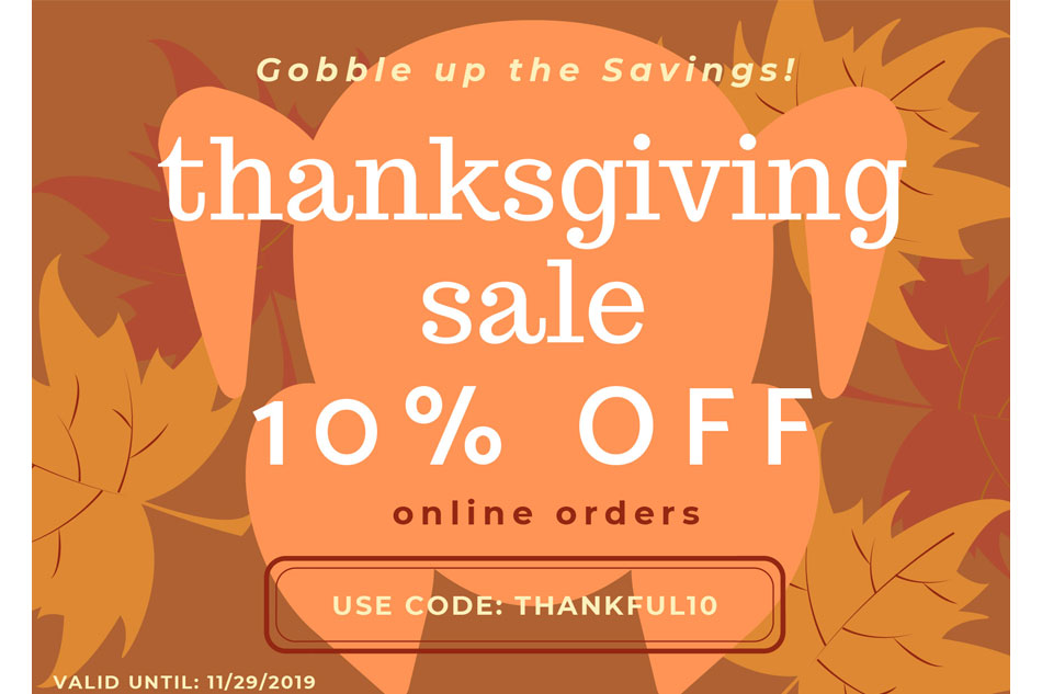 A Gobble of Savings!
